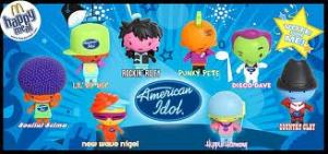American Idol Happy Meals