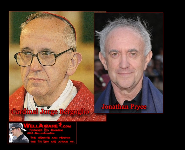 Meet the New Pope - Actor Jonathan Pryce.