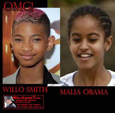 Willow Smith/Malia Obama
