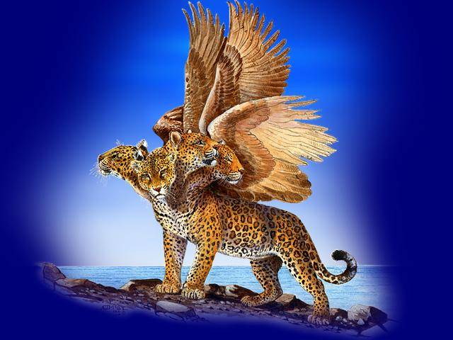 The Four Beasts of Daniel Chap 7. Beast # 3- The JAGUAR ...
