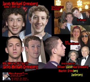 Mark Zuckerberg and Aunt Liz (Kaplan) Harmon